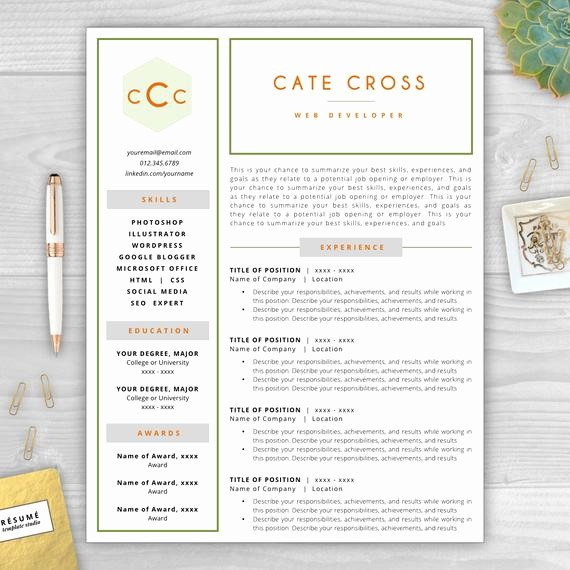 Free Monogram Template for Word Lovely Monogram Resume Template Resume Objective Resume Cover
