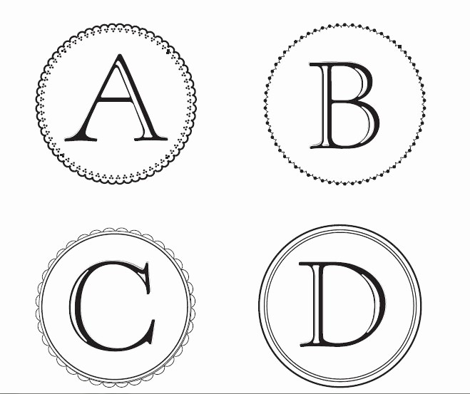 Free Monogram Template for Word Luxury Free Monogram Letters You Can and Use to Make