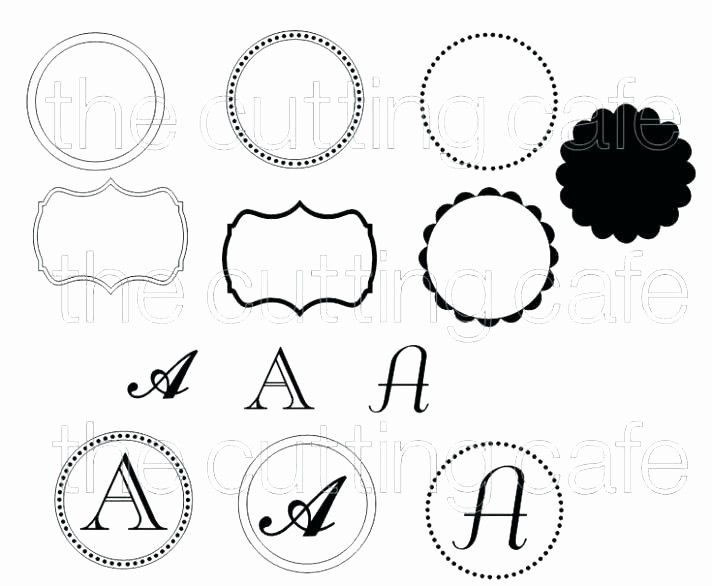 Free Monogram Template for Word New Free Monogram Template Download Printable Alphabet for