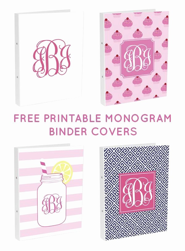 Free Monogram Template for Word Unique Fabulous Chic Free Printables