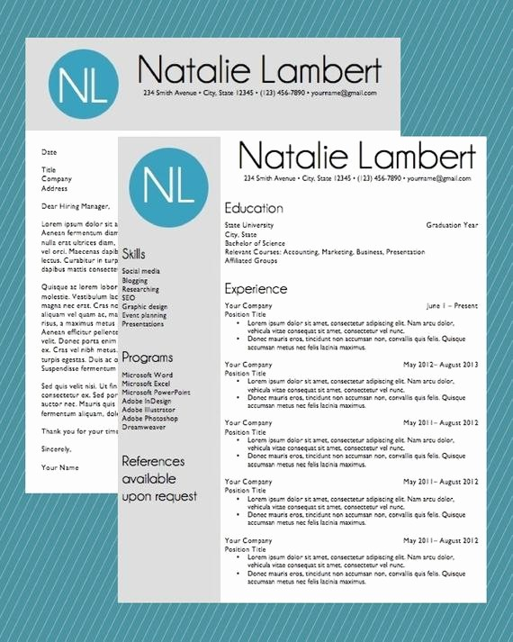 Free Monogram Template for Word Unique Resume Template Word Document Download Modern Monogram