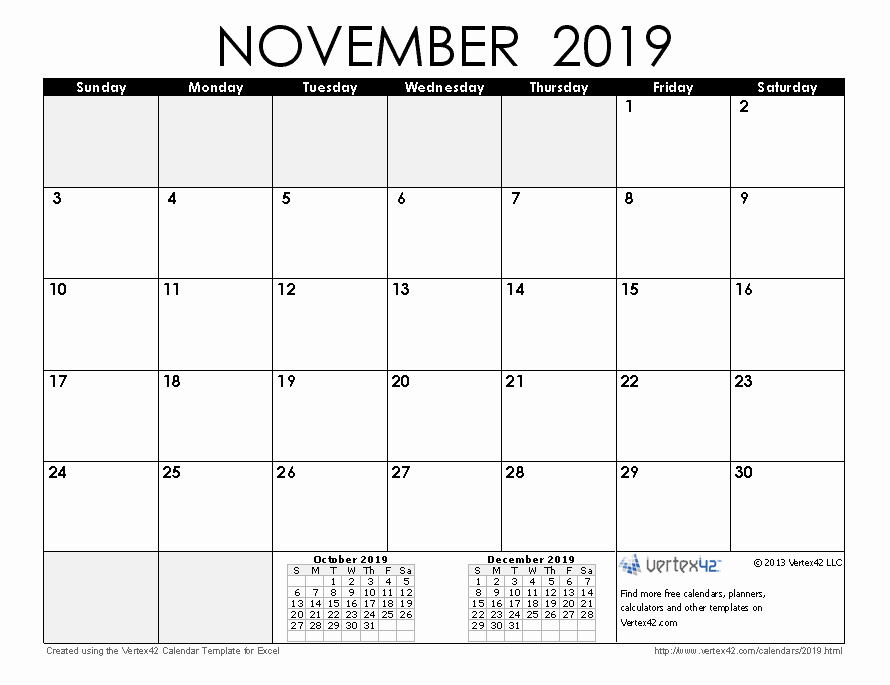 Free Monthly Calendar Template 2019 Best Of 2019 Calendar Templates and
