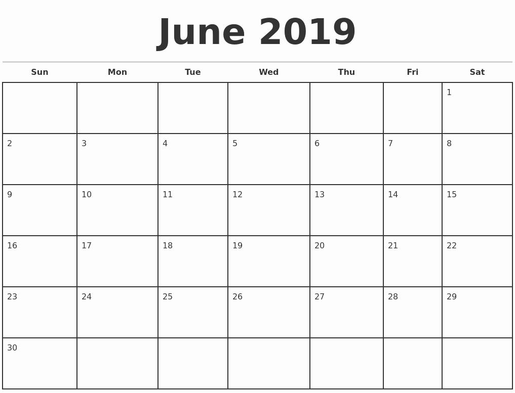 Free Monthly Calendar Template 2019 Inspirational November 2019 Blank Monthly Calendar