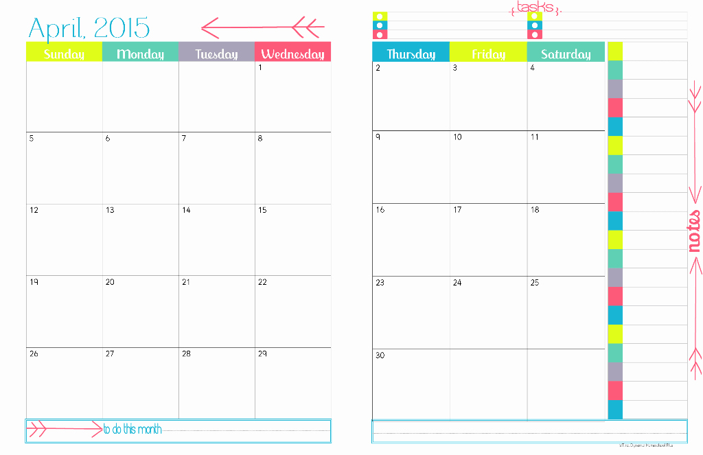 Free Monthly Calendar Templates 2015 Unique 2015 Physical Year Calendar