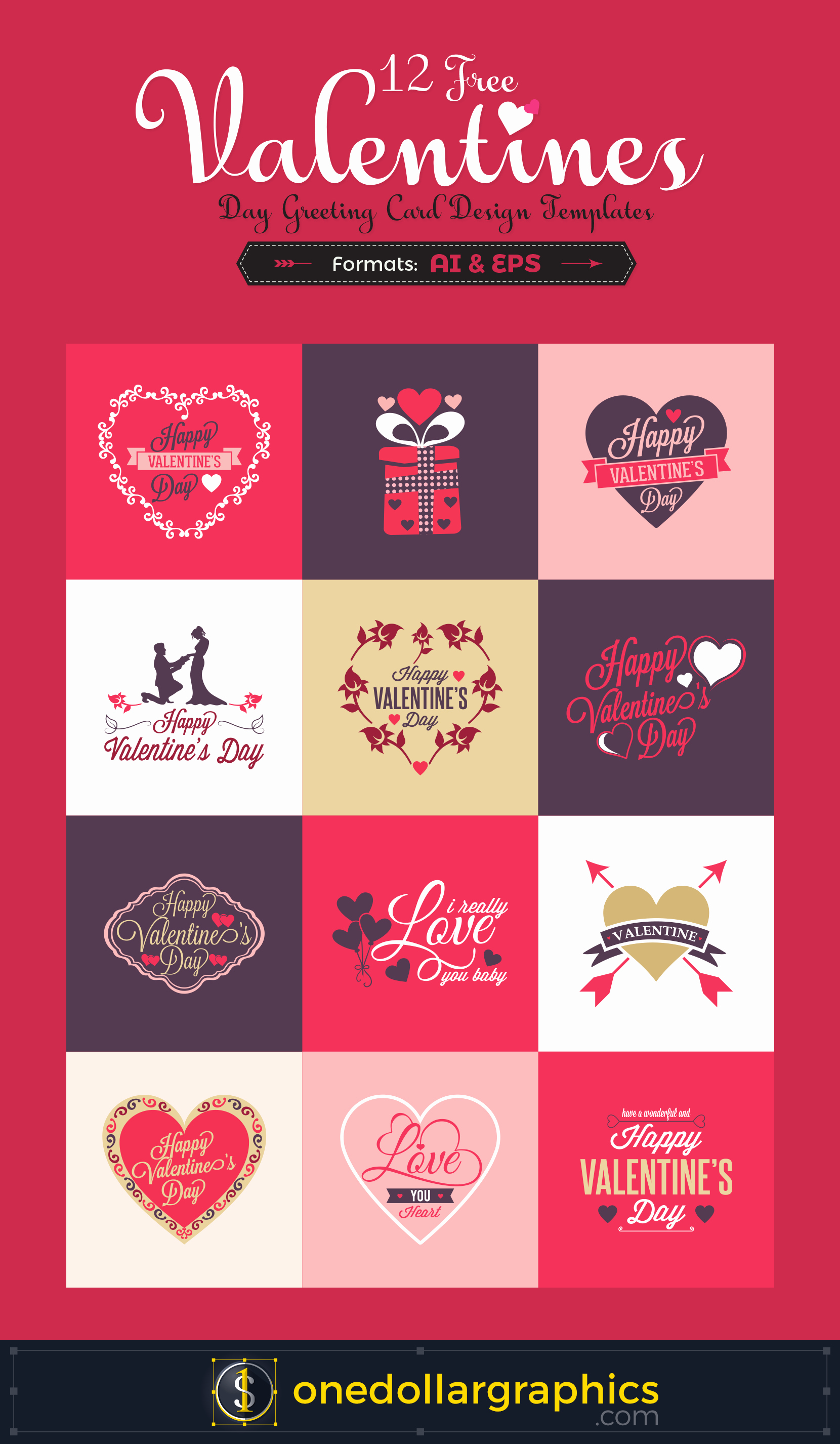 Free Mother's Day Card Templates Awesome 12 Free Valentine S Day Greeting Card Design Templates