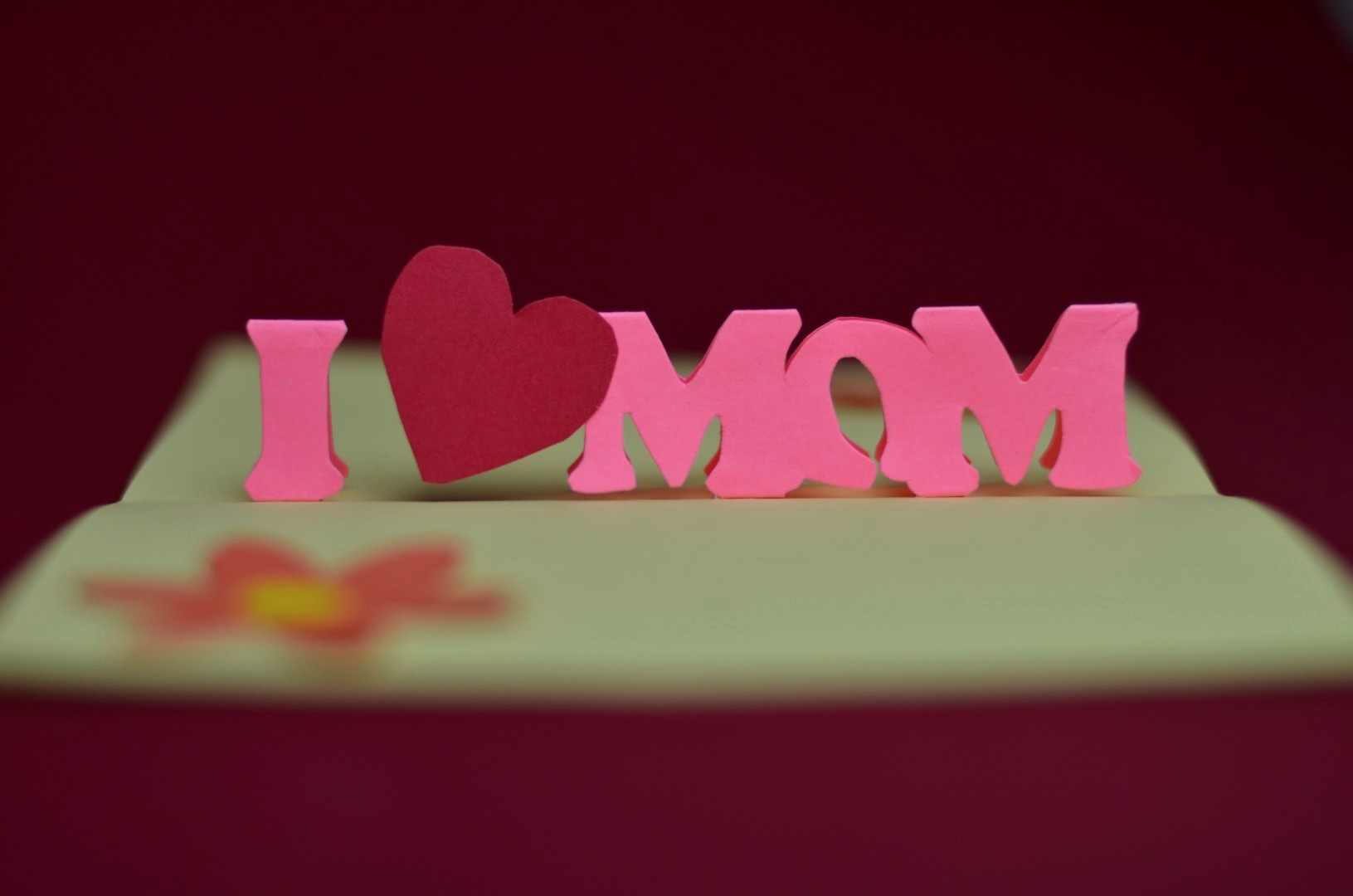 Free Mother's Day Card Templates Awesome Simple Mother S Day Pop Up Card Template Creative Pop Up