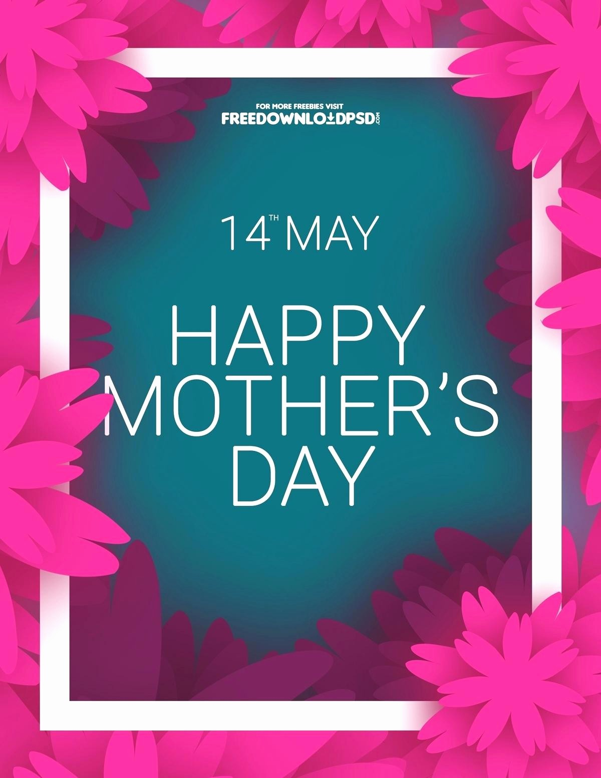 Free Mother's Day Card Templates Awesome Template Mothers Day Template