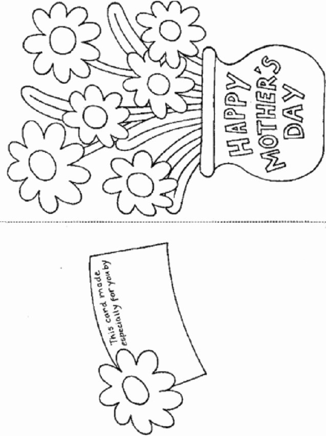 Free Mother's Day Card Templates Beautiful Free Coloring Pages Printable Happy Mother's Day Greeting