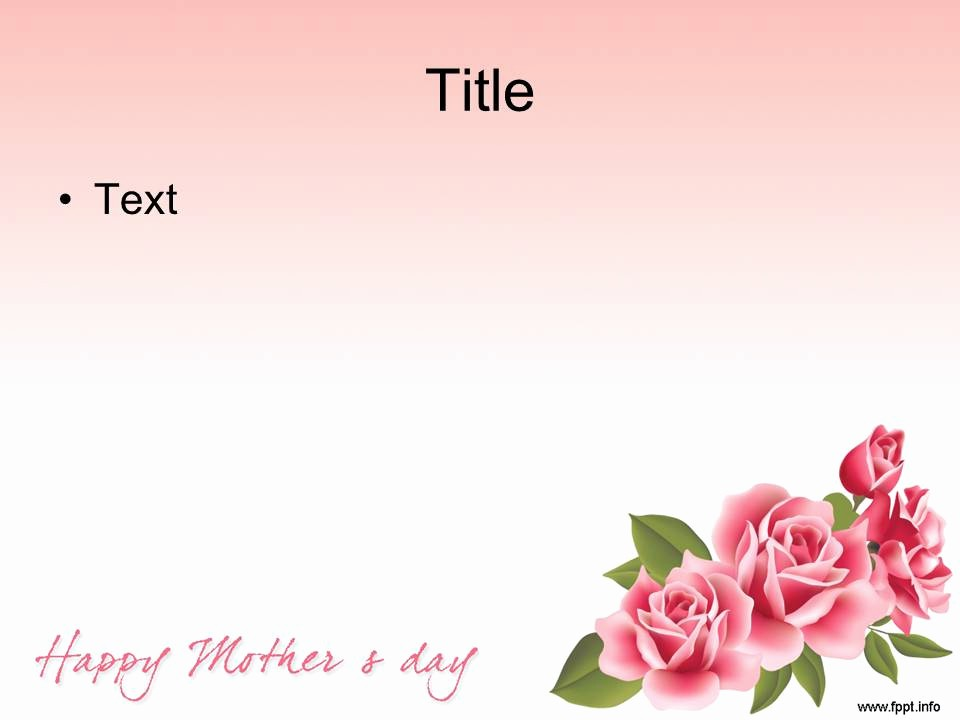 Free Mother's Day Card Templates Elegant Free Download Mother S Day Powerpoint Templates