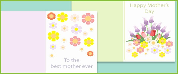 Free Mother's Day Card Templates Inspirational Mother S Day Card Template
