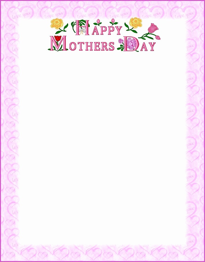 Free Mother's Day Card Templates Lovely Free Printable Happy Mother S Day Poems that Kids Can