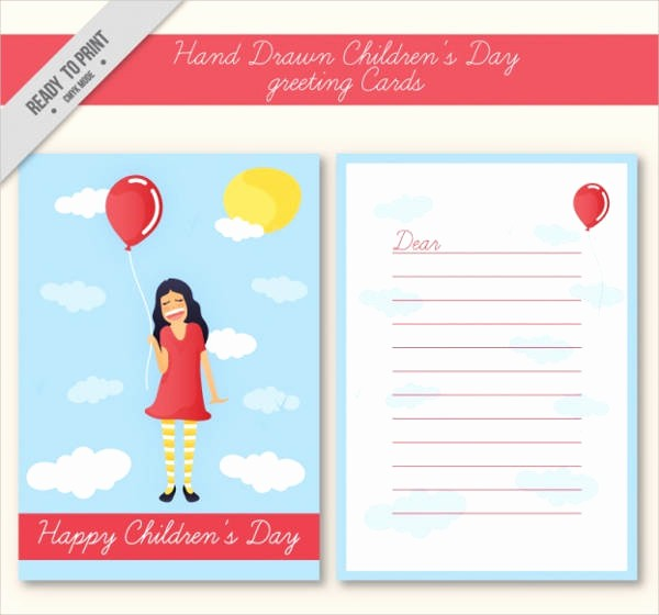 Free Mother's Day Card Templates Luxury Children S Party Invitations 9 Free Psd Vector Eps Ai