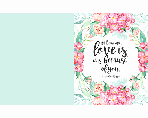 Free Mother's Day Card Templates Luxury Free Printable Mother S Day Prints and Greeting Cards