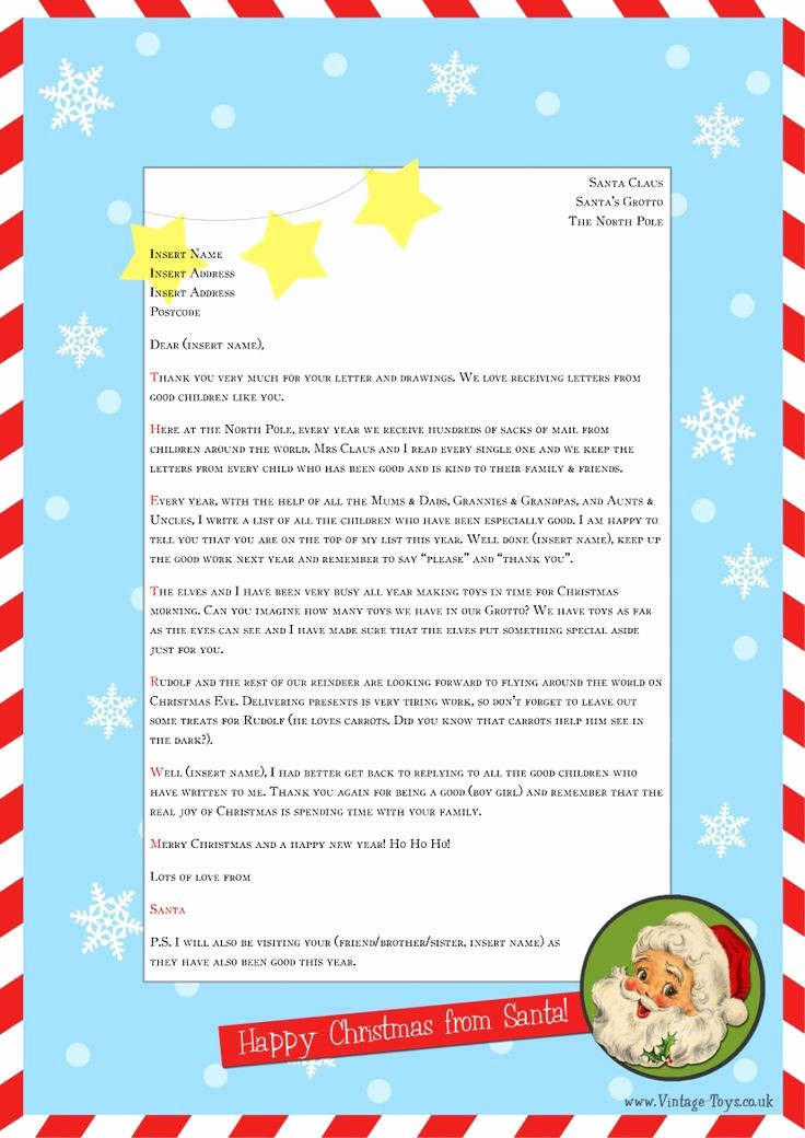 Free Ms Word Letter Templates Elegant Free Christmas Letter Templates Microsoft Word – Festival