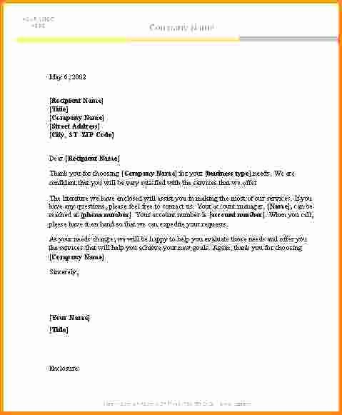 Free Ms Word Letter Templates New Letter Template Ms Word Microsoft Business Download
