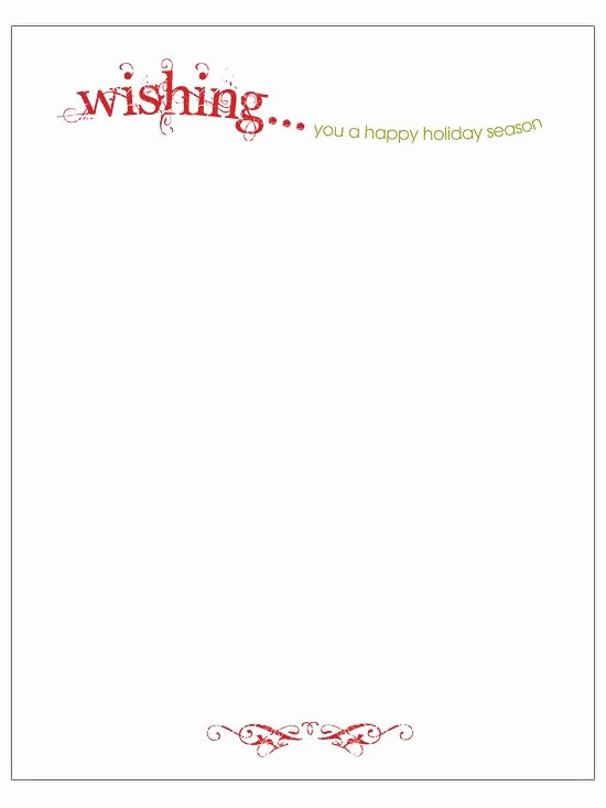 Free Ms Word Letter Templates Unique Free Christmas Letter Templates Microsoft Word – Festival