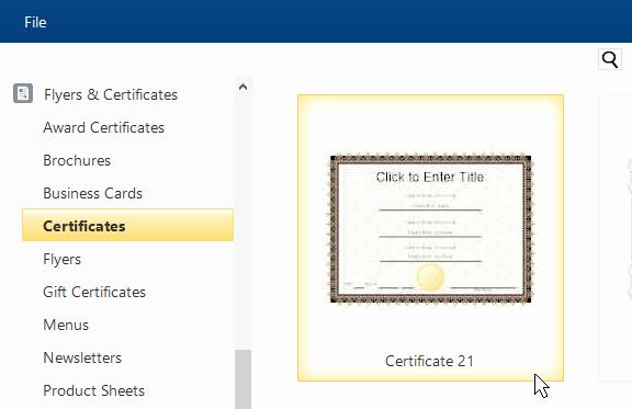 Free Online Certificate Maker software Best Of Certificate Template software Try It Free and Create
