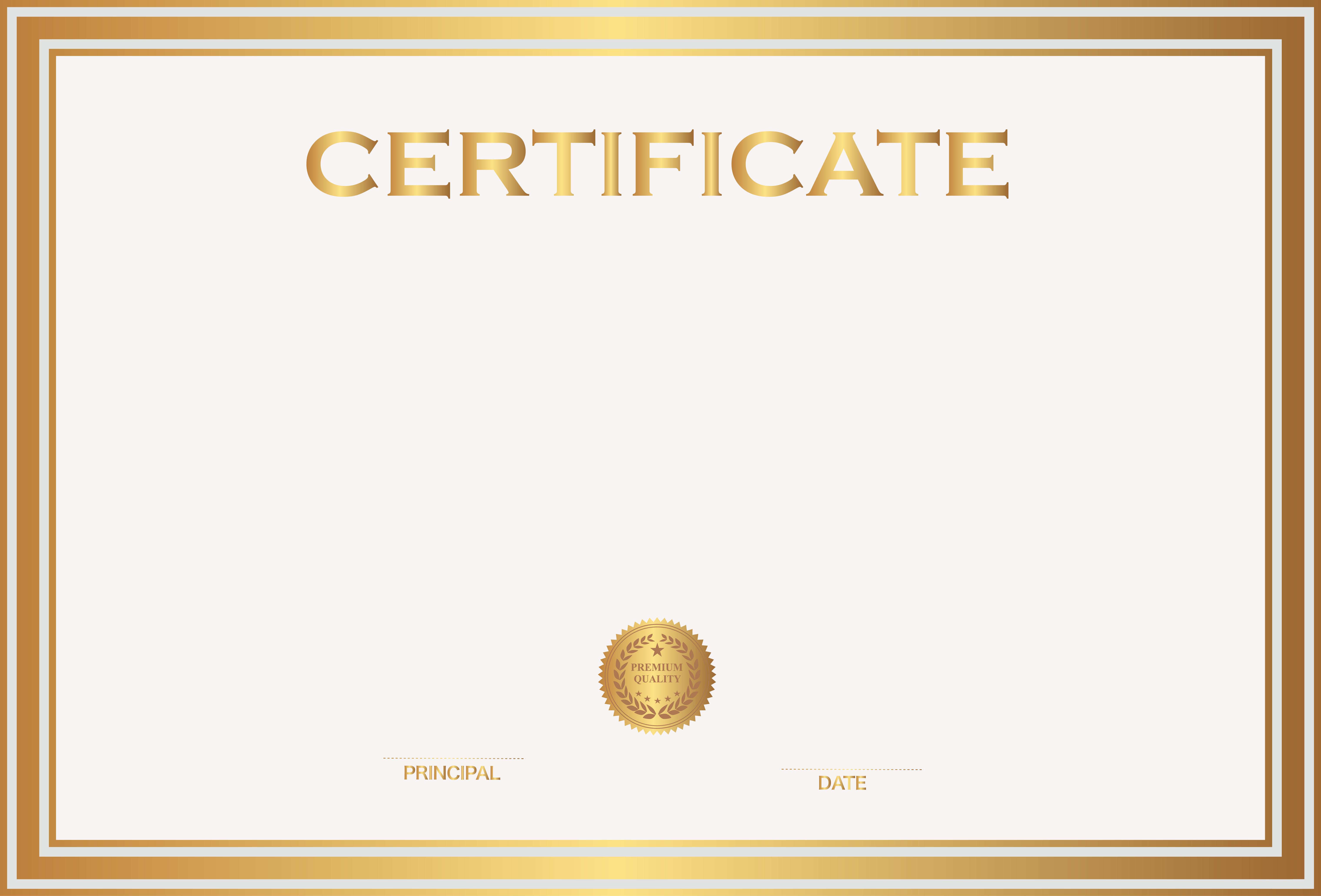 Free Online Certificate Maker software Elegant Certificate Template Png Transparent Certificate Template