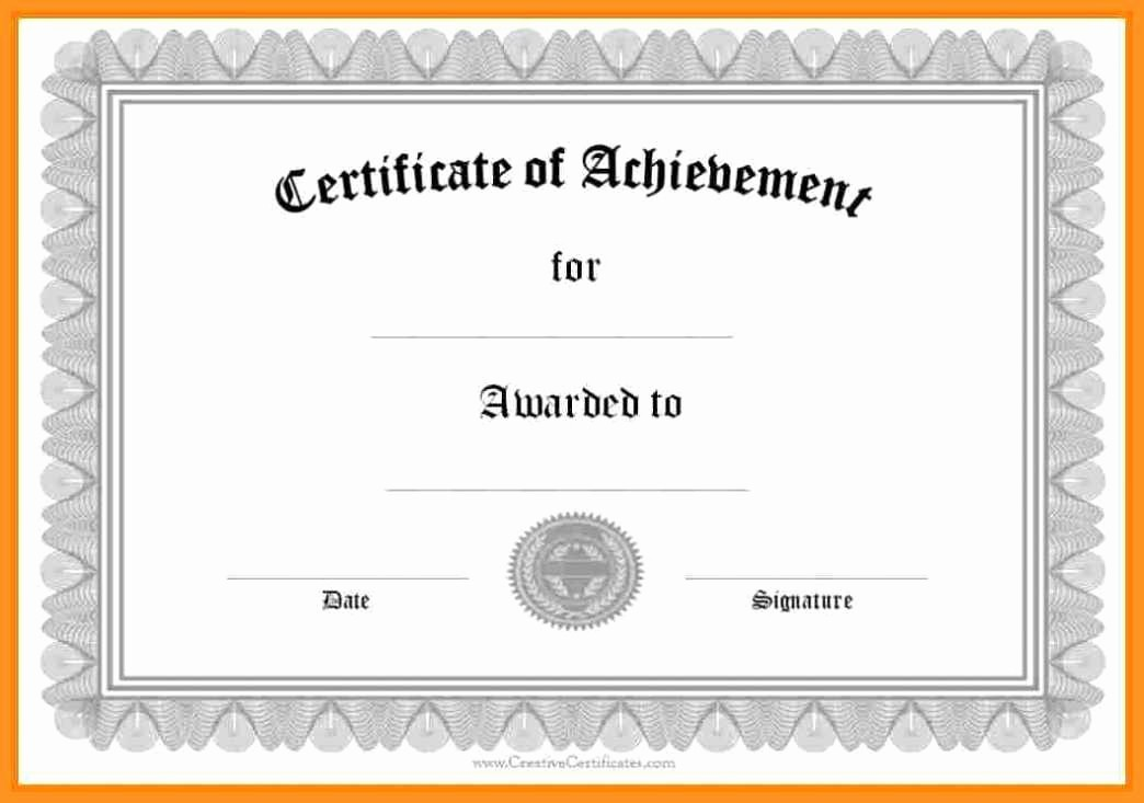 Free Online Certificate Maker software Inspirational 5 6 Free Certificate Templates S