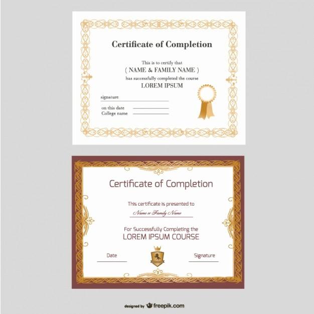 Free Online Certificate Maker software Inspirational Beautiful Certificate Templates Vector