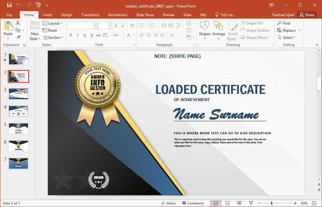 Free Online Certificate Maker software Inspirational Certificate Design software