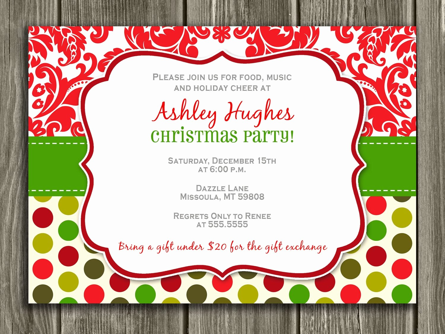 Free Online Christmas Party Invitations Awesome Free Printable Christmas Party Invitations Online