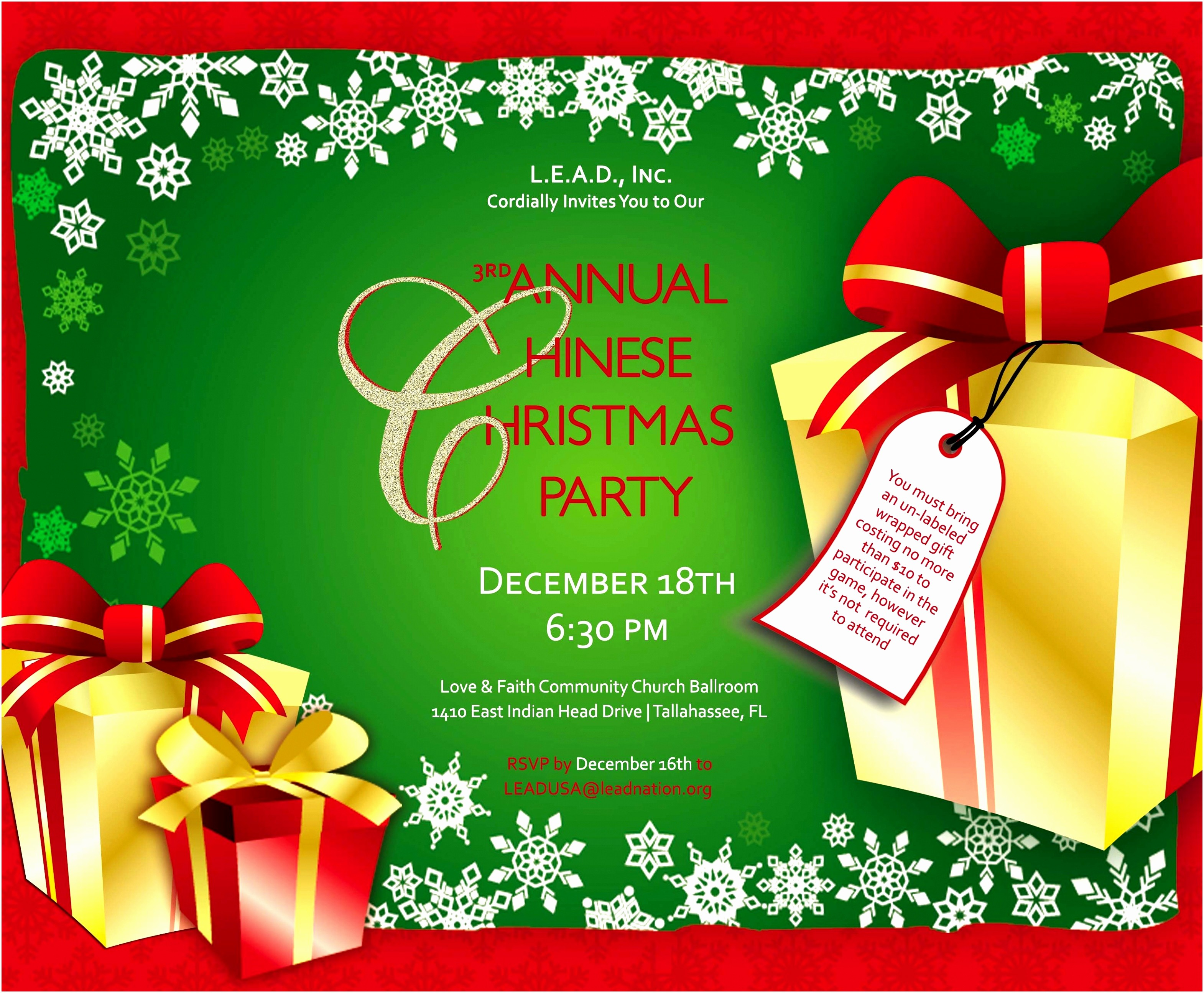 Free Online Christmas Party Invitations Fresh 10 Line Christmas Invitation Templates Aeoue