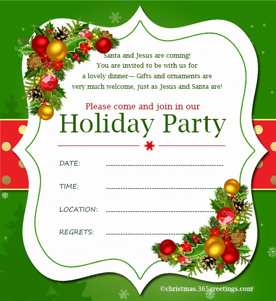 Free Online Christmas Party Invitations Luxury Christmas Invitation Template and Wording Ideas