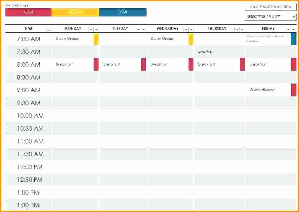 Free Online College Schedule Maker Beautiful Work Schedule Maker Template – Flybymedia