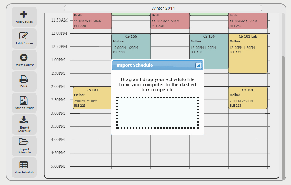 Free Online College Schedule Maker Lovely Free College Schedule Maker