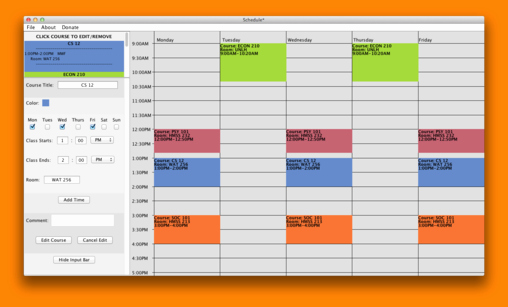 Free Online College Schedule Maker Luxury 7 Schedule Maker Free