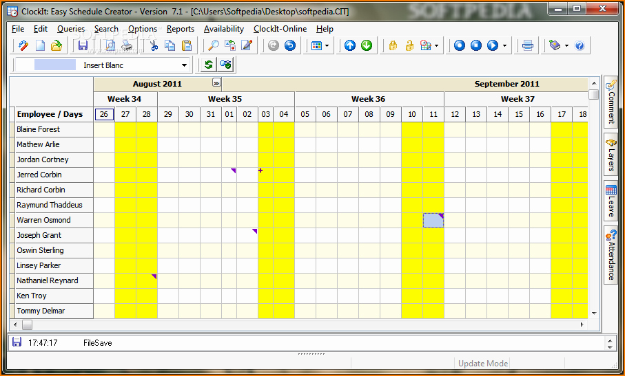 Free Online College Schedule Maker Unique 4 Work Schedule Maker