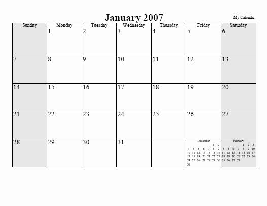 Free Online Weekly Schedule Maker Elegant Free Monthly Calendar or Planner Printable Line