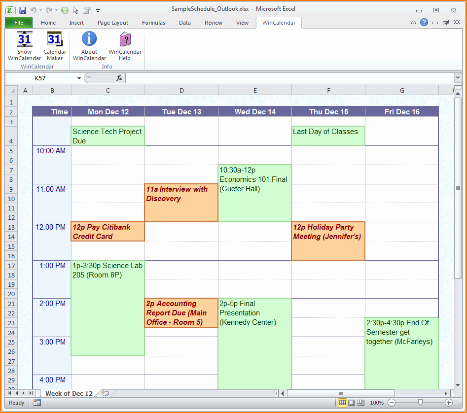 Free Online Weekly Schedule Maker Fresh 4 Daily Schedule Maker