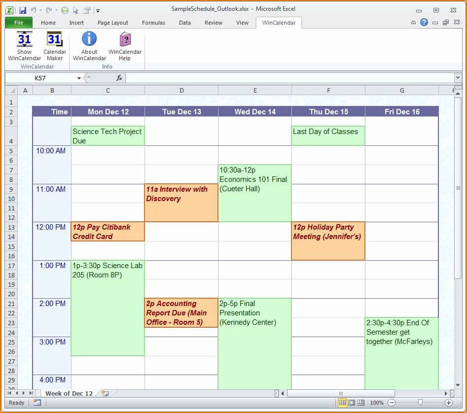 Free Online Weekly Schedule Maker Fresh 4 Daily Schedule Maker