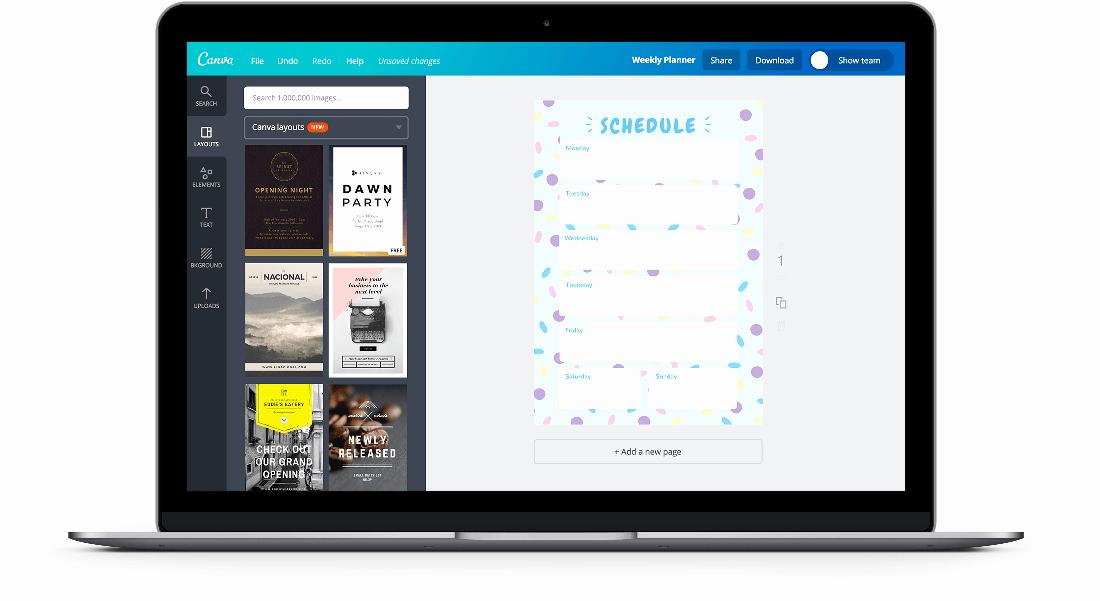 Free Online Weekly Schedule Maker Inspirational Free Line Weekly Schedule Maker Design A Custom Weekly