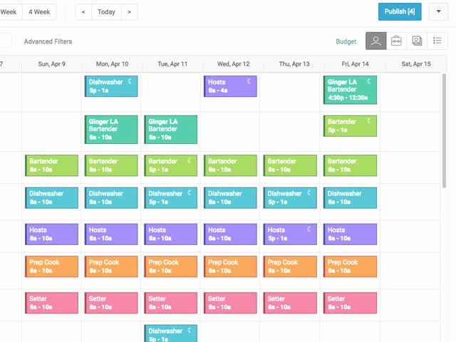 Free Online Weekly Schedule Maker New Line Employee Schedule Maker