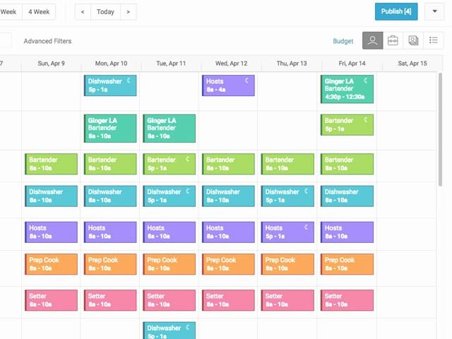 Free Online Weekly Schedule Maker New Line Employee Schedule Maker