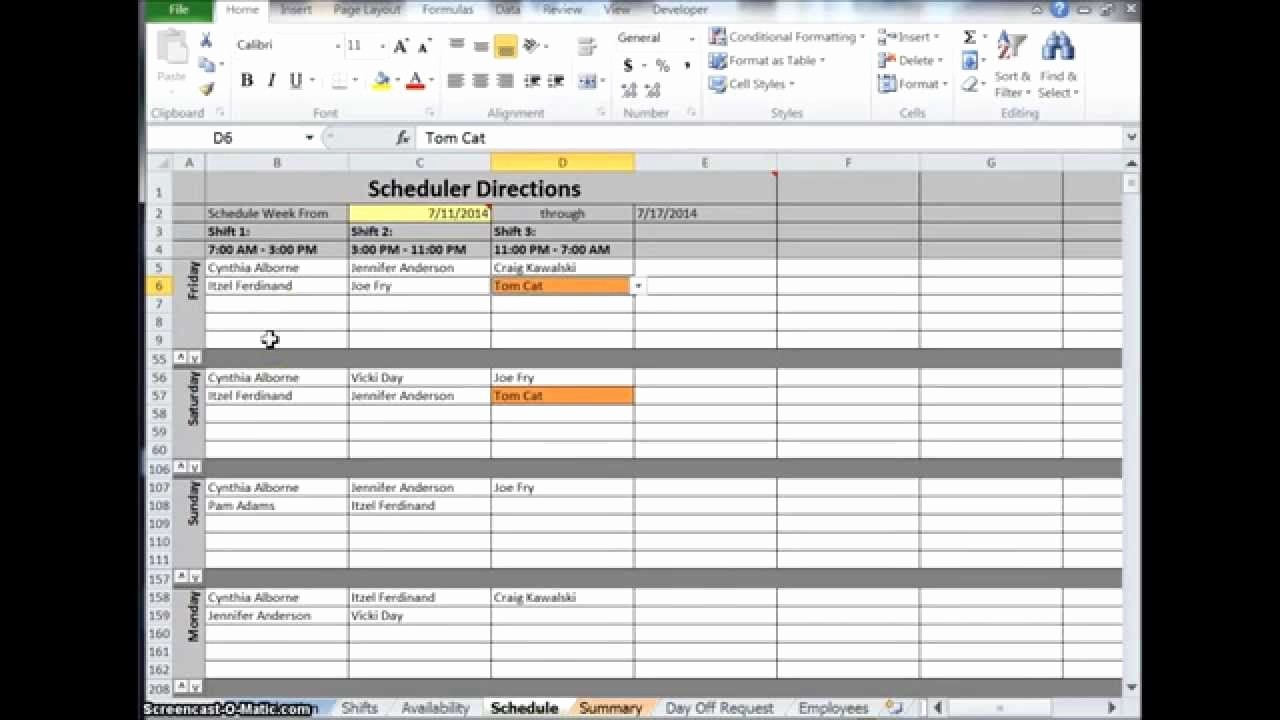 Free Online Weekly Schedule Maker Unique Excel Schedule Maker