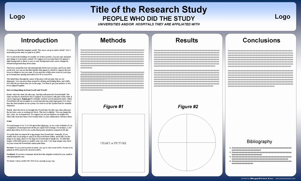 Free Poster Templates for Word Lovely Free Powerpoint Scientific Research Poster Templates for