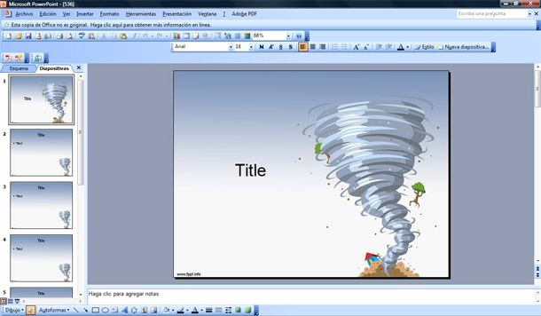 Free Power Point Templates Com Awesome Twister Powerpoint Template