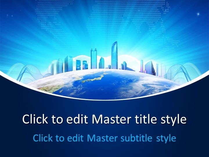 Free Power Point Templates Com Best Of Free Business World Powerpoint Template Free Powerpoint
