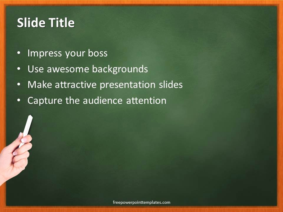 Free Power Point Templates Com Best Of Science Chalkboard Powerpoint Template 2 Free