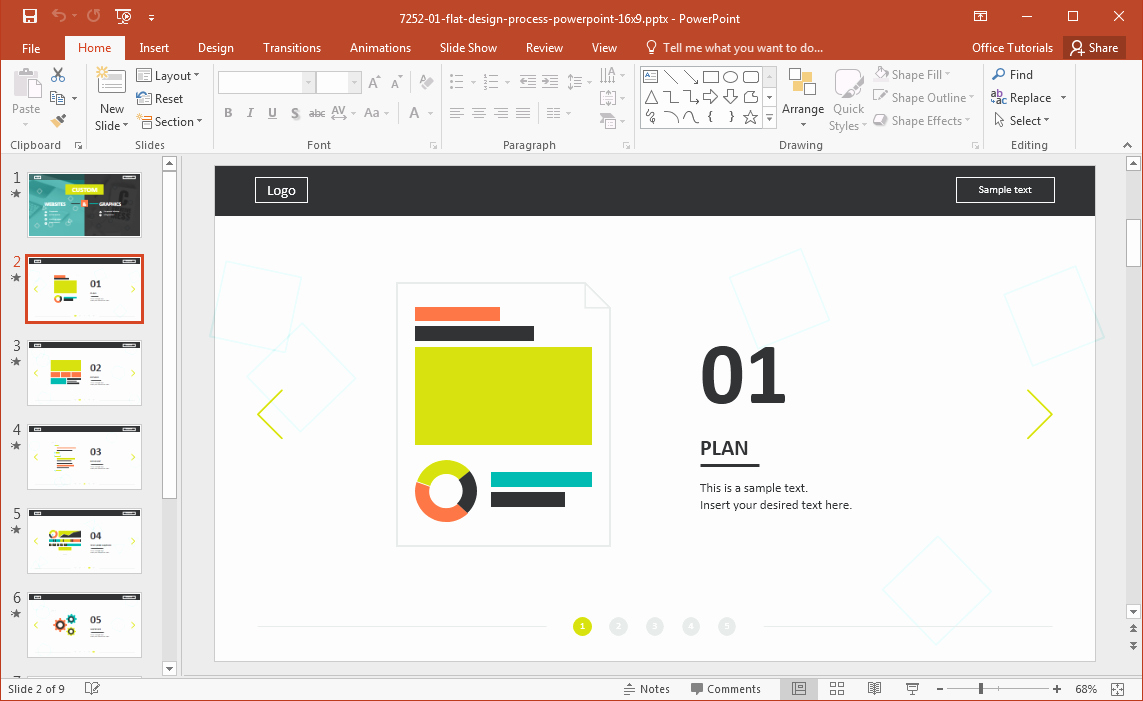 Free Power Point Templates Com Fresh Website Development Presentation Template for Powerpoint