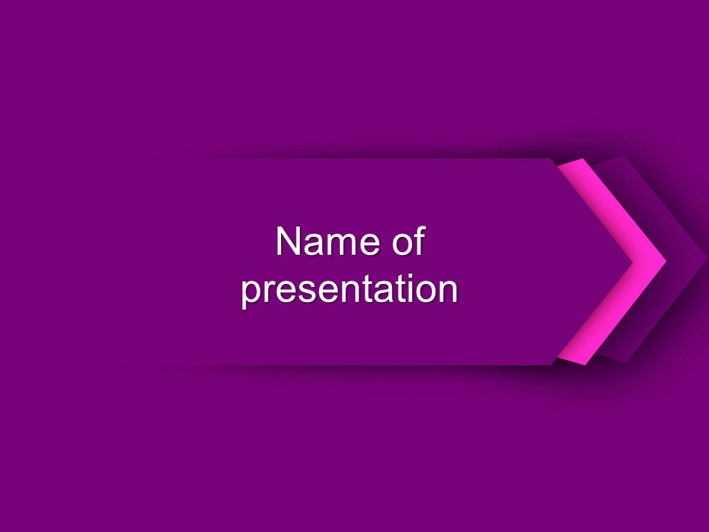 Free Power Point Templates Com New Download Free Purple Direction Powerpoint Template for