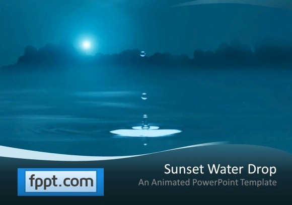 Free Power Point Templates Com Unique Animated Water Drop Powerpoint Template