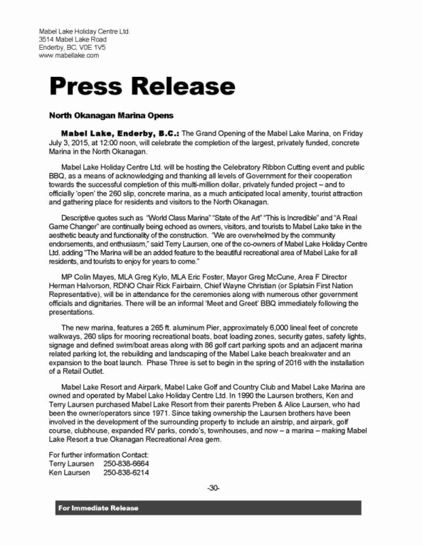 Free Press Release Template Word Awesome 21 Free Press Release Template Word Excel formats