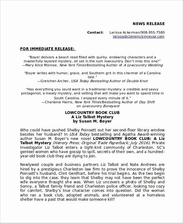 Free Press Release Template Word Beautiful Press Release Template 20 Free Word Pdf Document