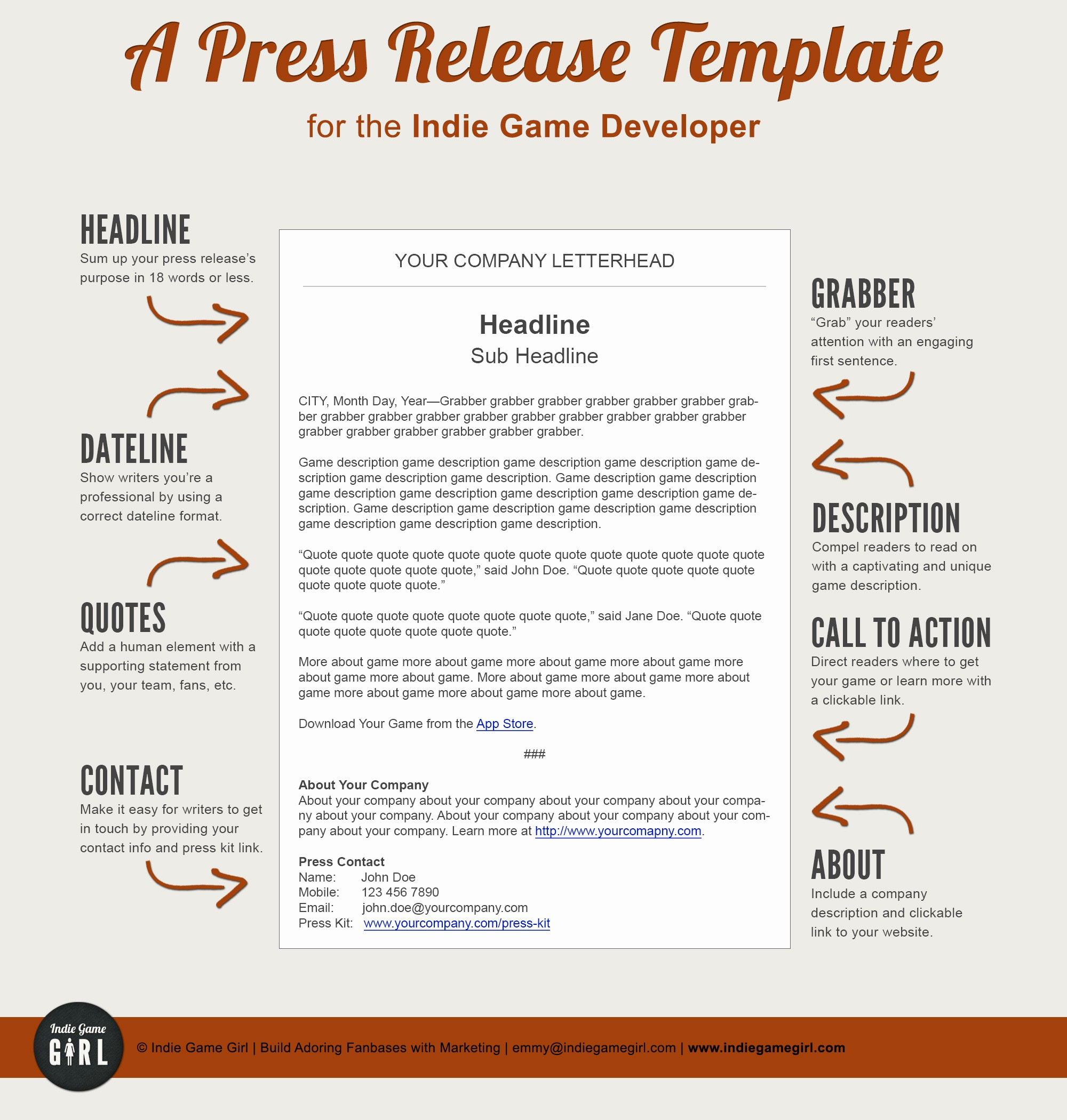 Free Press Release Template Word Lovely 6 Press Release Templates Excel Pdf formats