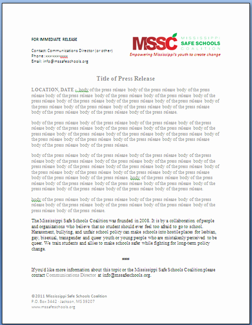 Free Press Release Template Word Lovely Day Four the Day Of tomorrow Davis Designs